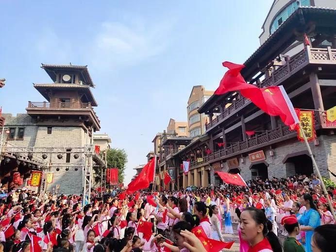 """爱国主旋律燃爆许昌""""十一假期""""文化旅游市场"""""""